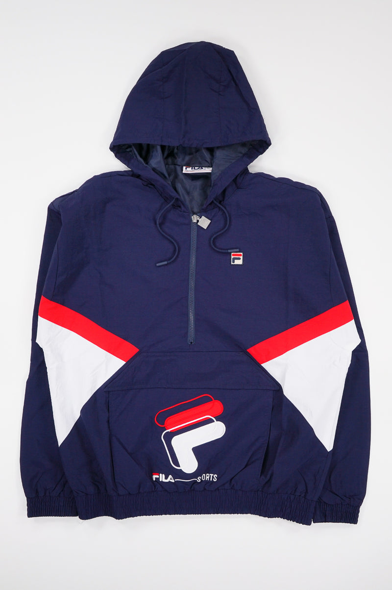 Fila Men Resso 1/4 Zip Jacket