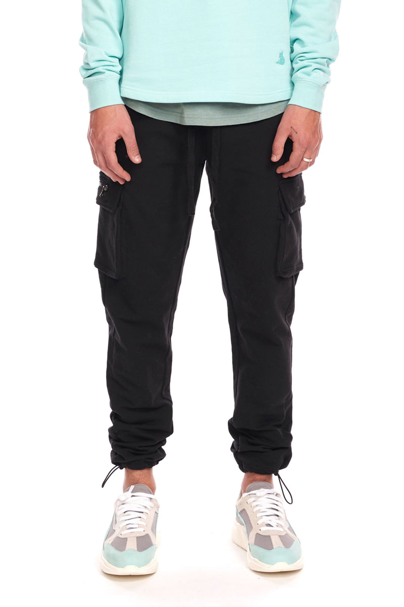 Aao Fashion Men Cargo Sweatpants