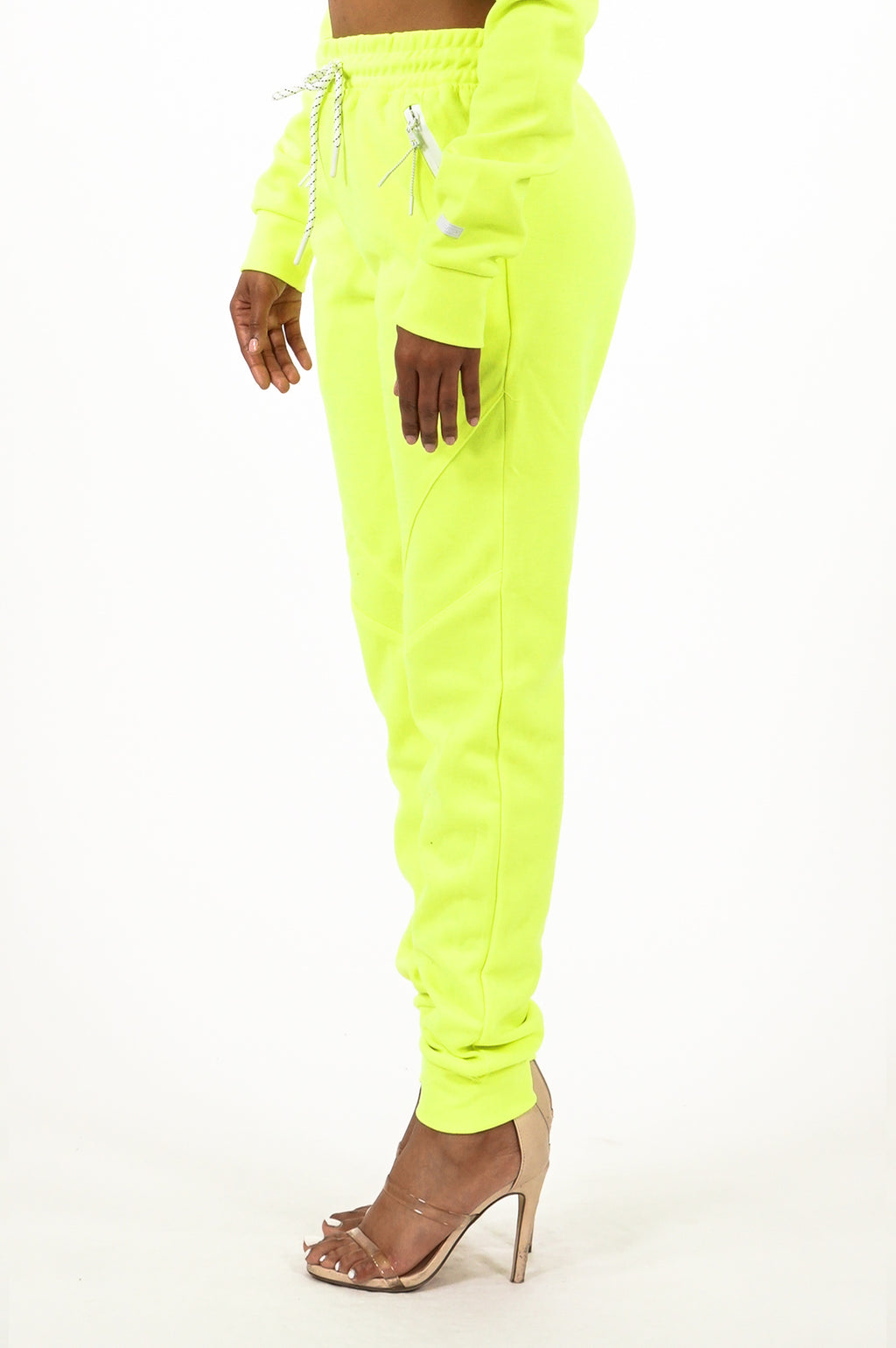 Southpole Women Neon Tech Fleece Pants