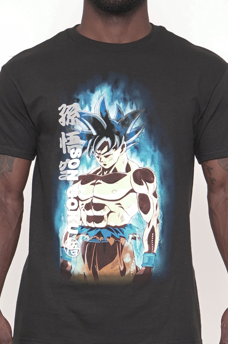 Aao Fashion Men Graphic S/S Tee Son Goku V2