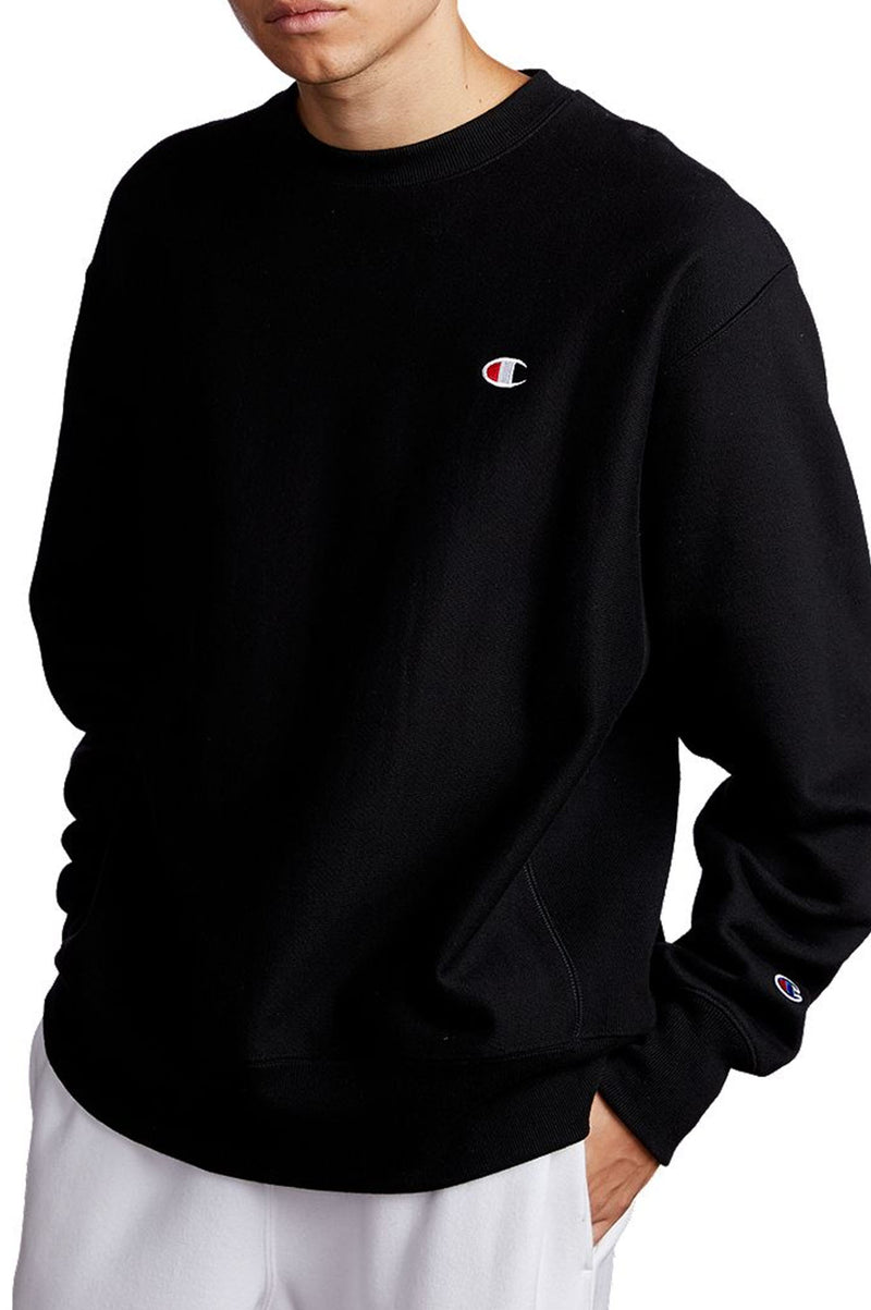 Champion Men Reverse Weave Overized Script