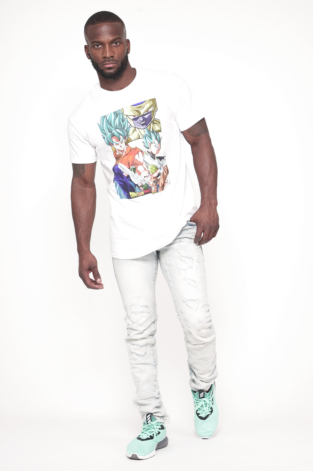 Aao Fashion Men Graphic S/S Tee Dbz Super