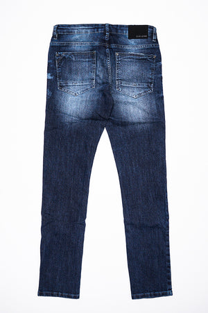 Aao Fashion Men Stretch Basic Denim