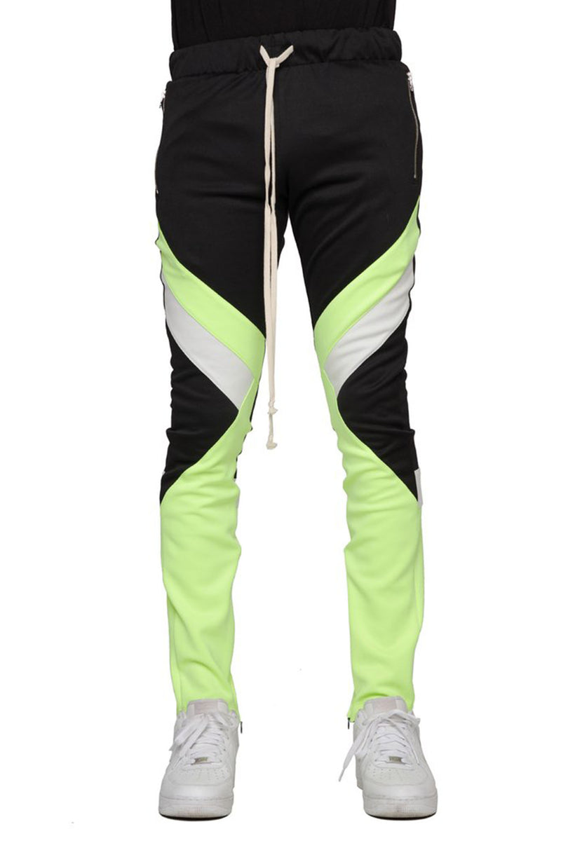 AAO FASHION Men NEON BLOCK PANTS