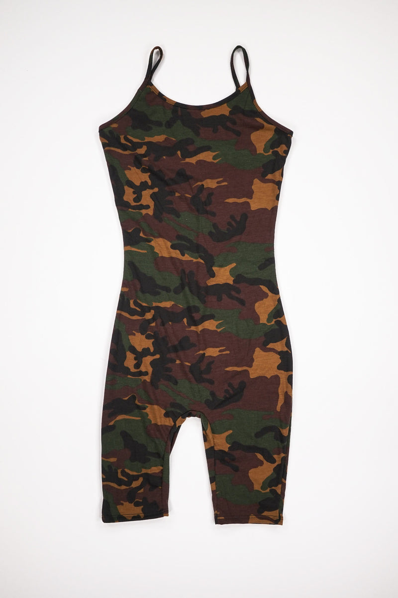 AAO FASHION Women CAMO BERMUDA BODY SUIT