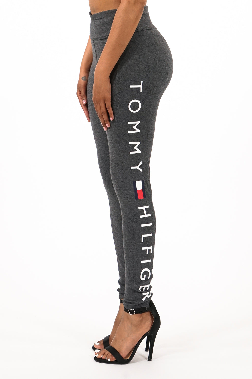 Tommy Hilfiger Activewear  Women Mid Rise Full Length Logo Legging