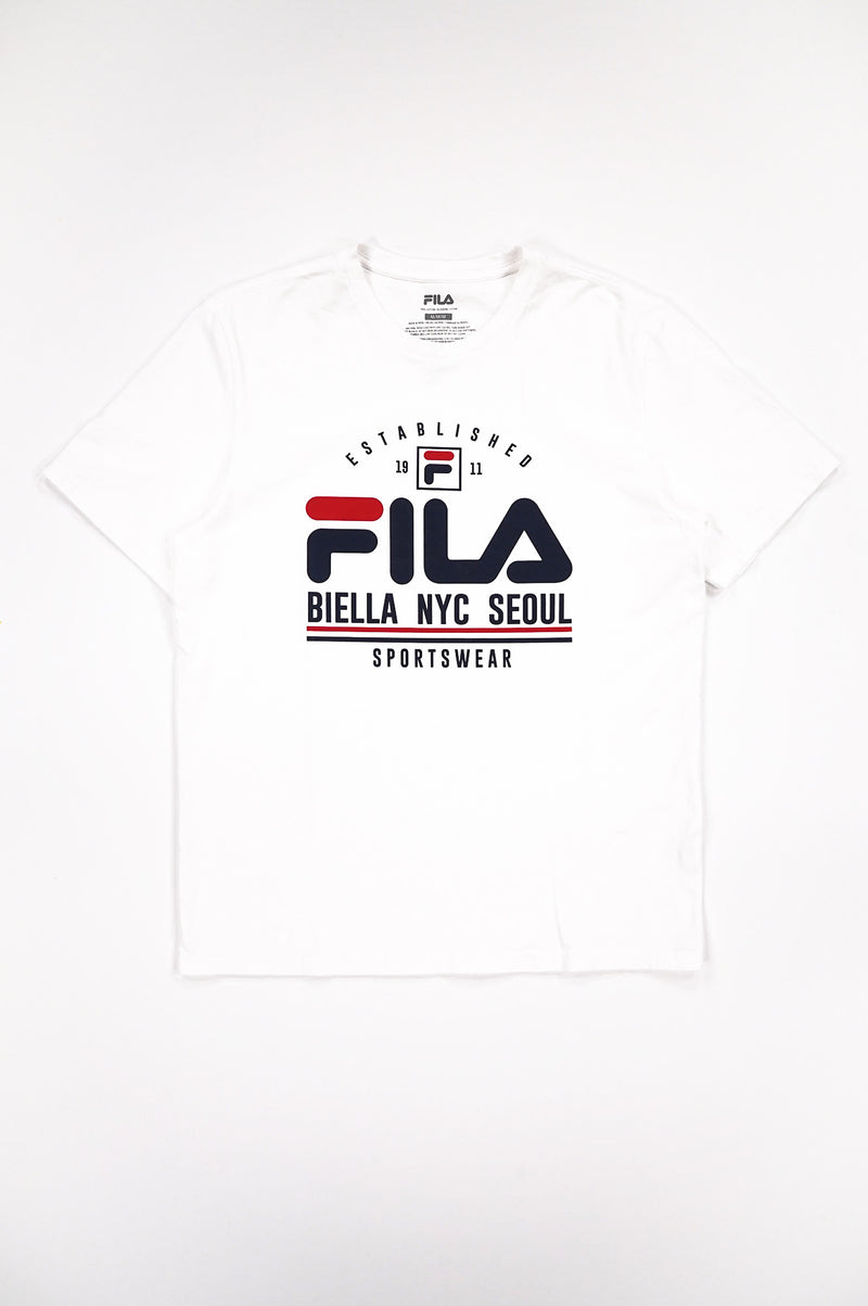 Fila Men Erico Graphic Tee