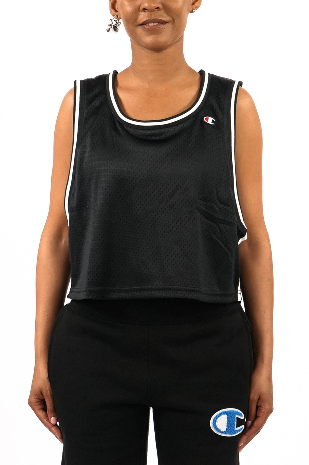 Champion Women Mesh Cropped Tank