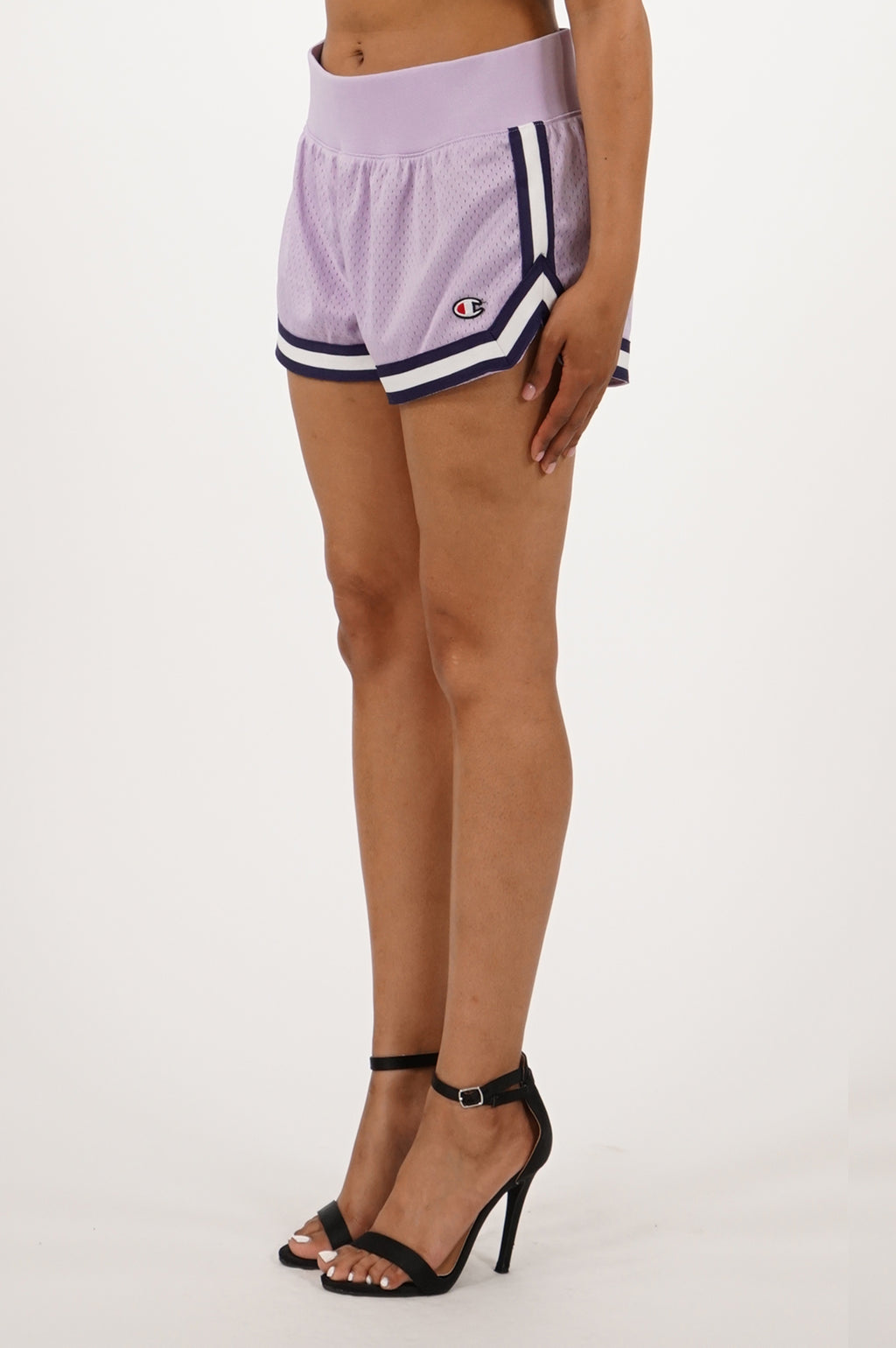 Champion Women Mesh Notch Short