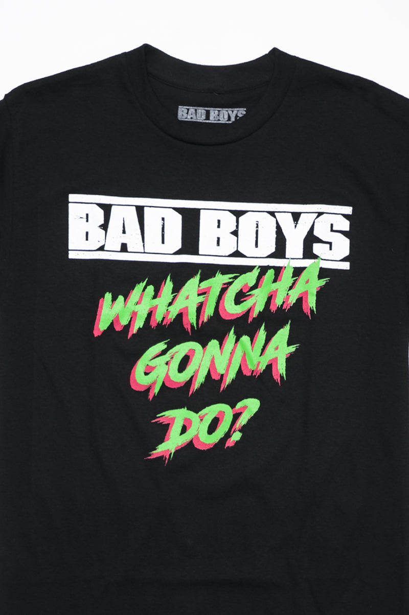 Aao Fashion Men Graphic Tee Bad Boys