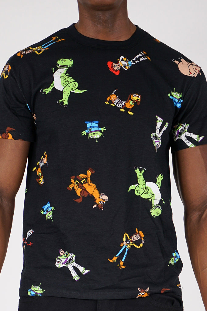 Aao Fashion Men Graphic S/S Tee Aop Cartoon Network