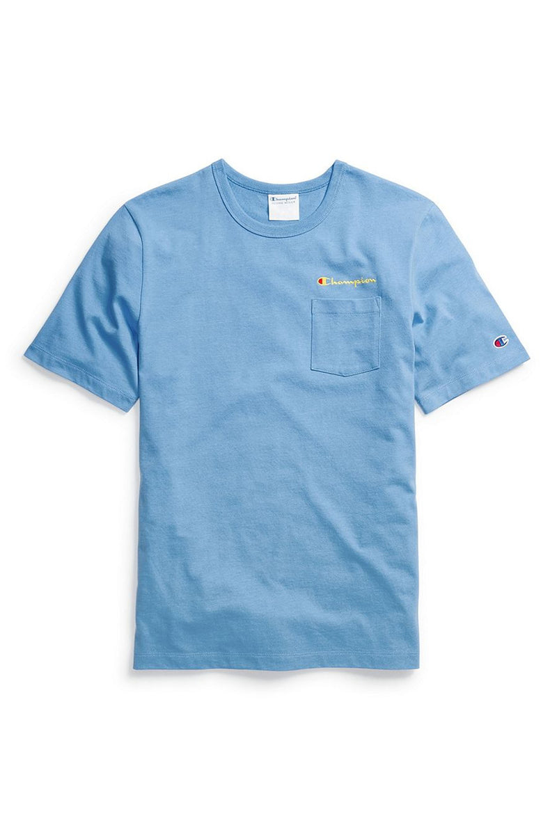 Champion Men Heritage Pocket Tee