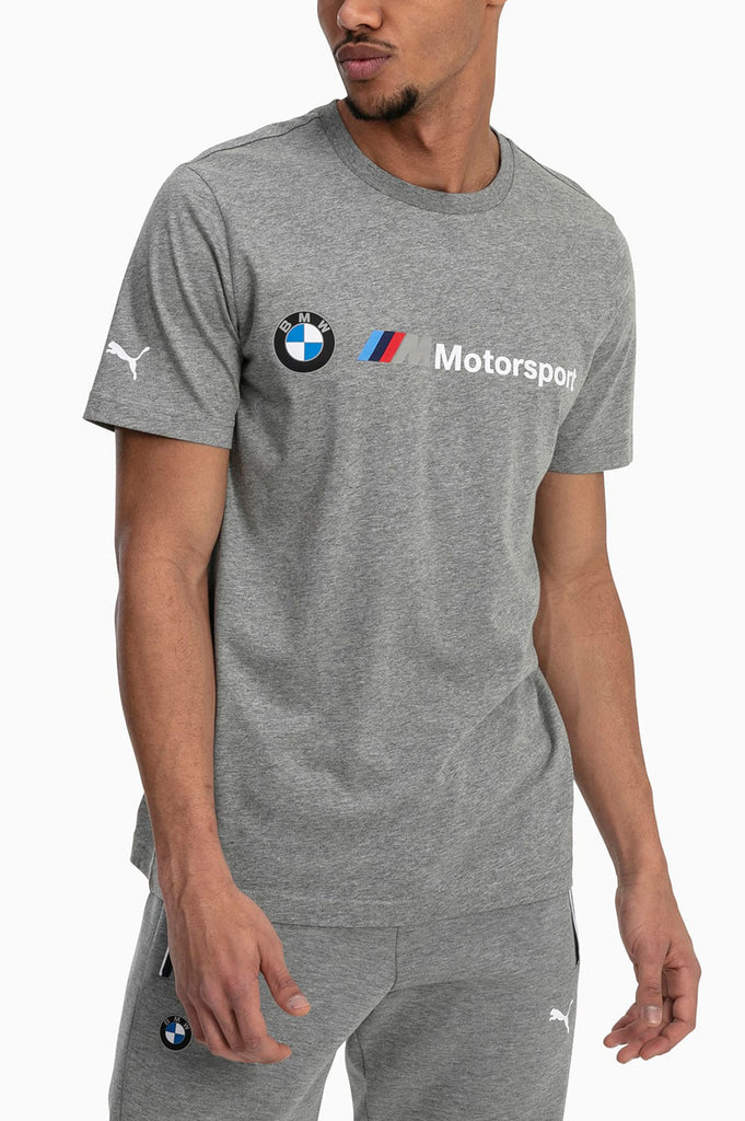 Puma Men Bmw M Motorsport Logo Tee