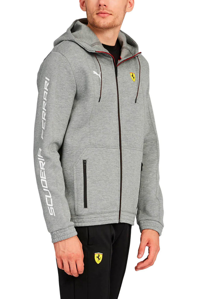 Puma Men Scuderia Ferrari Hooded Sweat Jacket