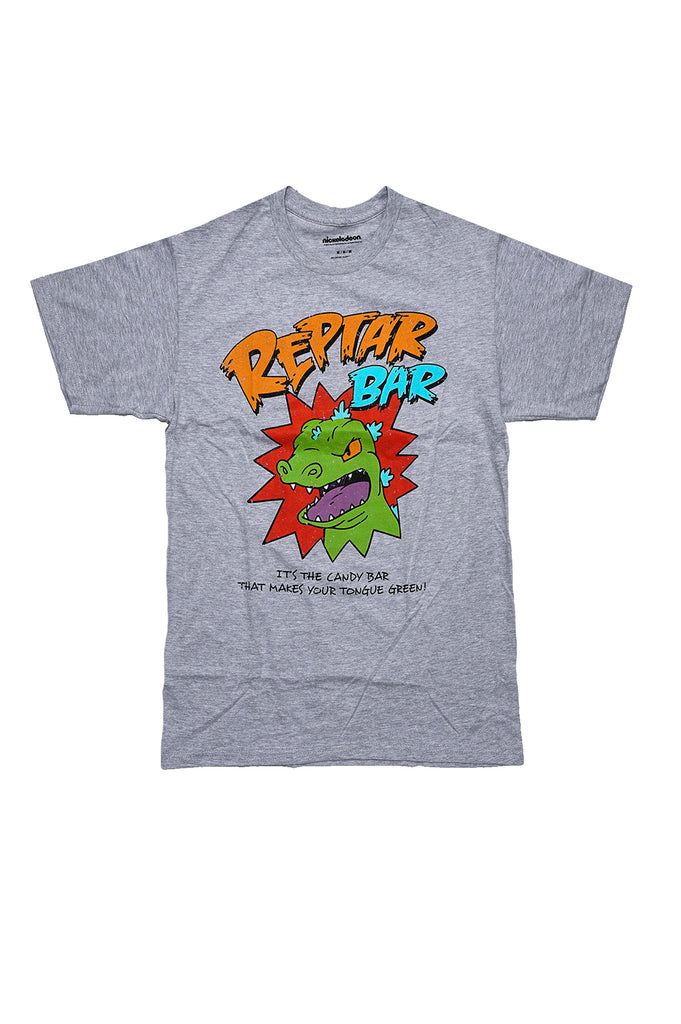Aao Fashion Men Graphic S/S Tee Nick Reptar Bar