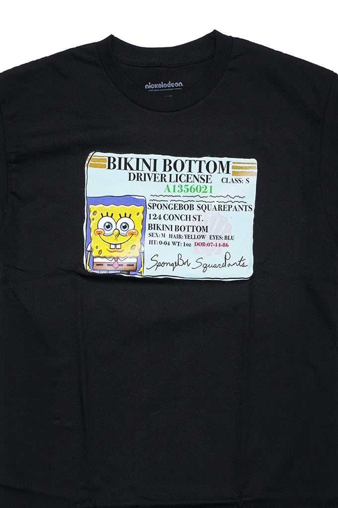 Aao Fashion Men Graphic S/S Tee Spongebob Drivers License