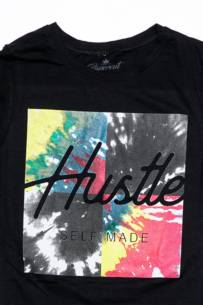Aao Fashion Women Verbiage Tshirts - Hustle