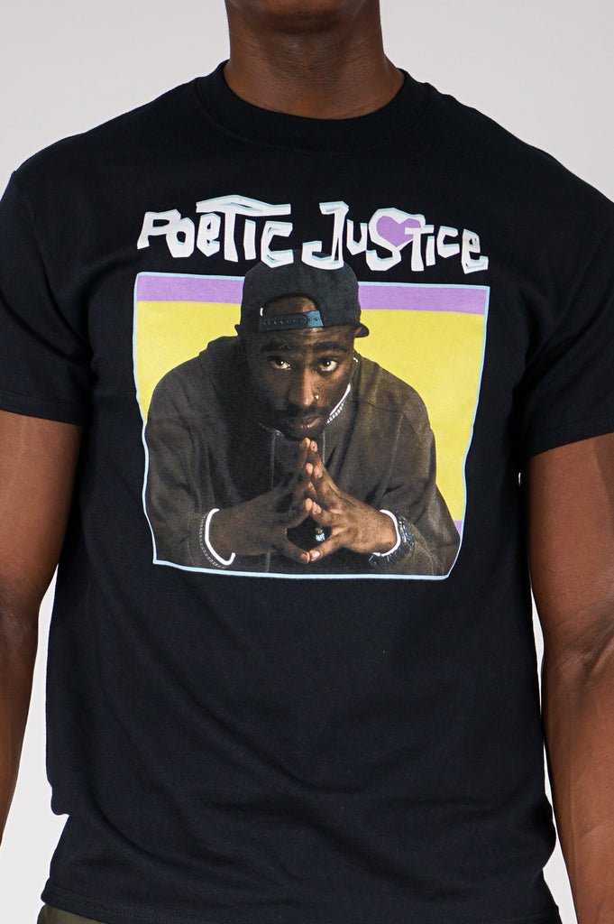 Aao Fashion Men Graphic S/S Tee Tupac