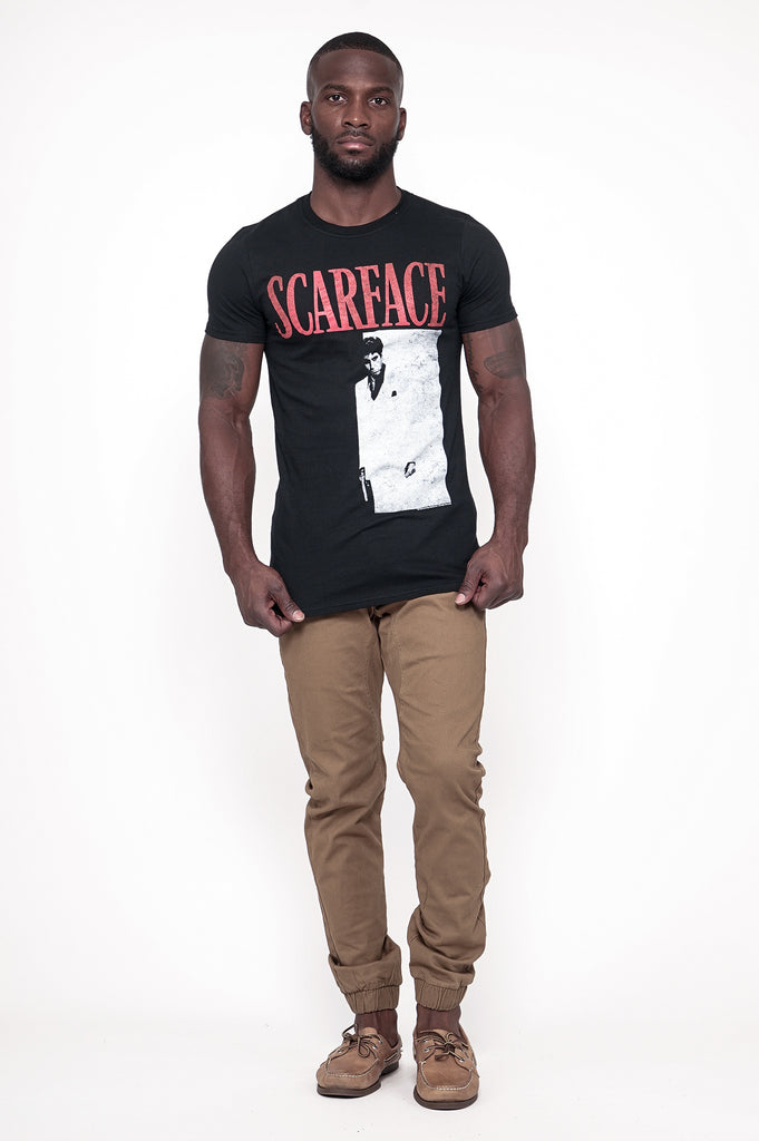 Aao Fashion Men Graphic S/S Tee Scarface