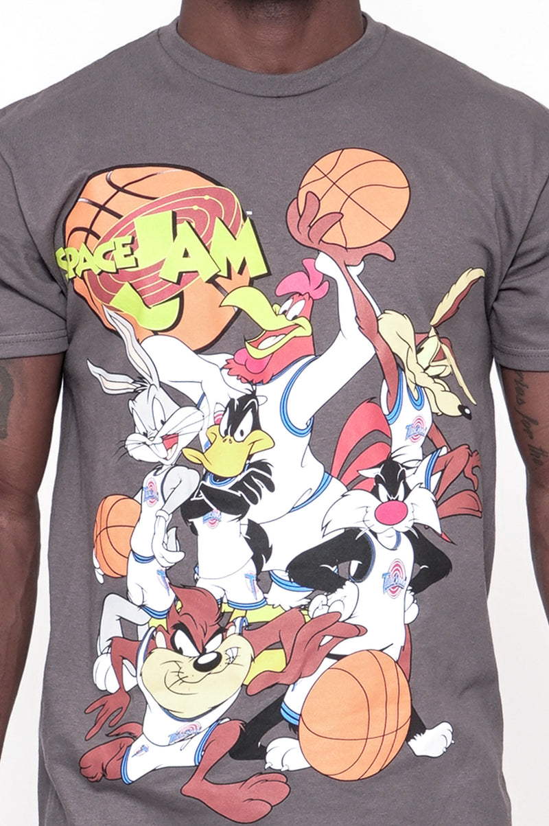 Aao Fashion Men Graphic Tee Space Jam Group