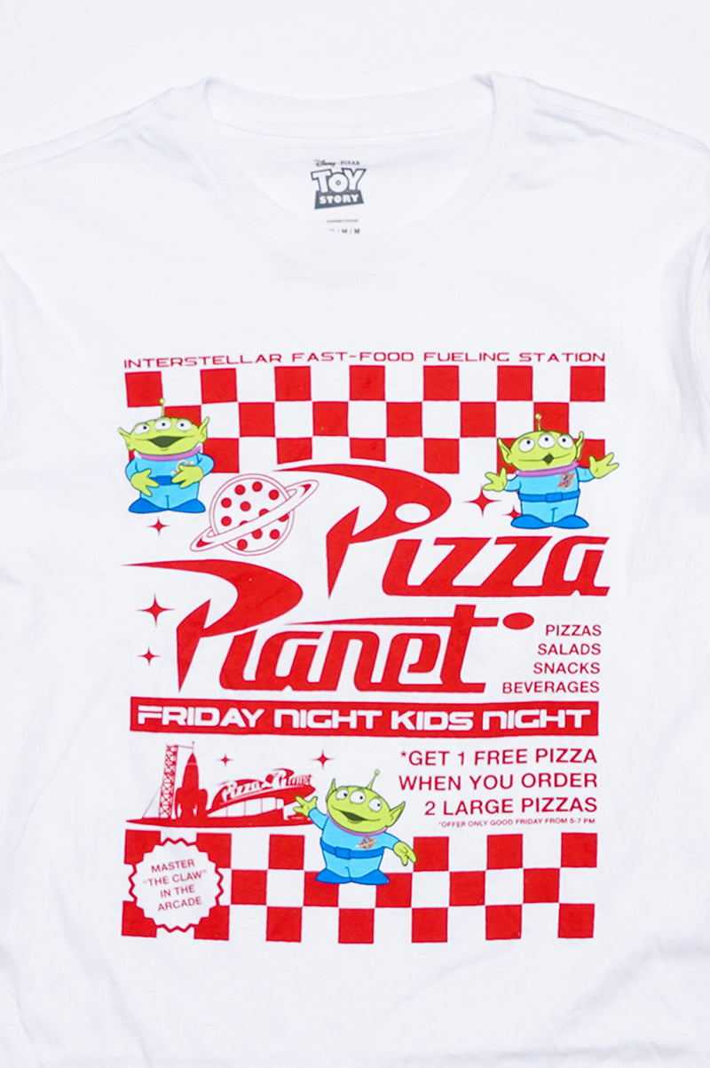 Aao Fashion Men Long Sleeved Graphic Tee - Pizza Planet