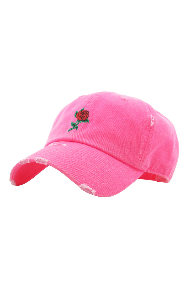 Aao Fashion Acc Dad Hat Rose