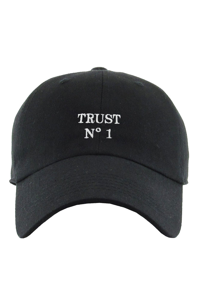 Aao Fashion Acc Dad Hat Trust No 1
