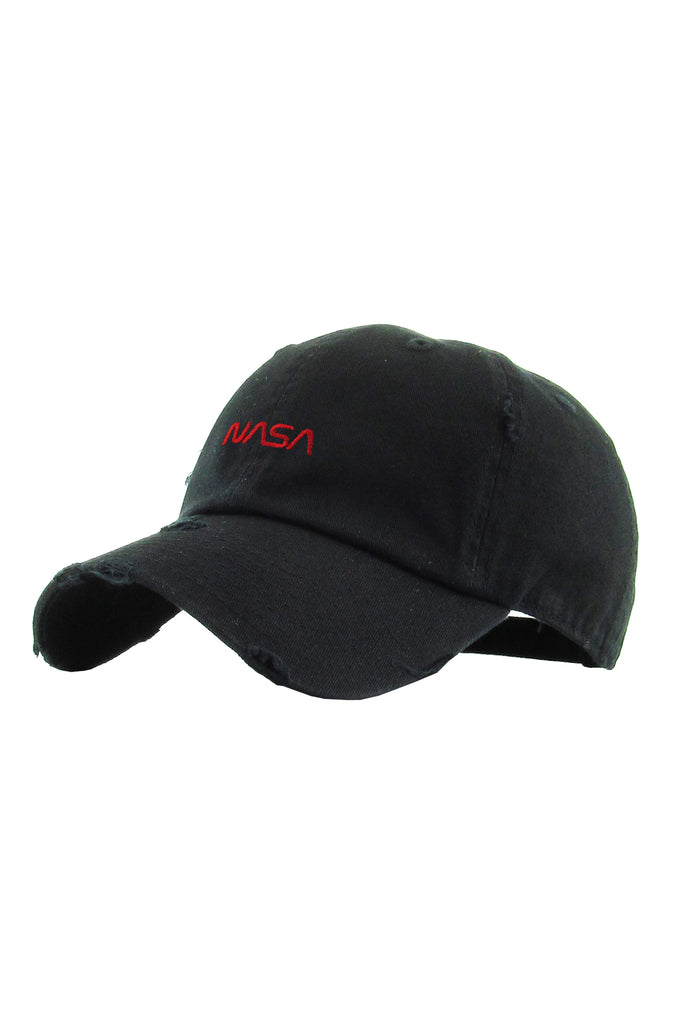 Aao Fashion Acc Dad Hat Nasa Letter