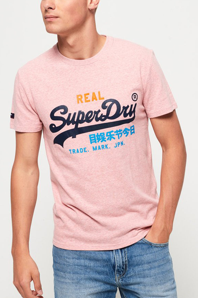 Superdry Men Vintage Logo Tri Tee
