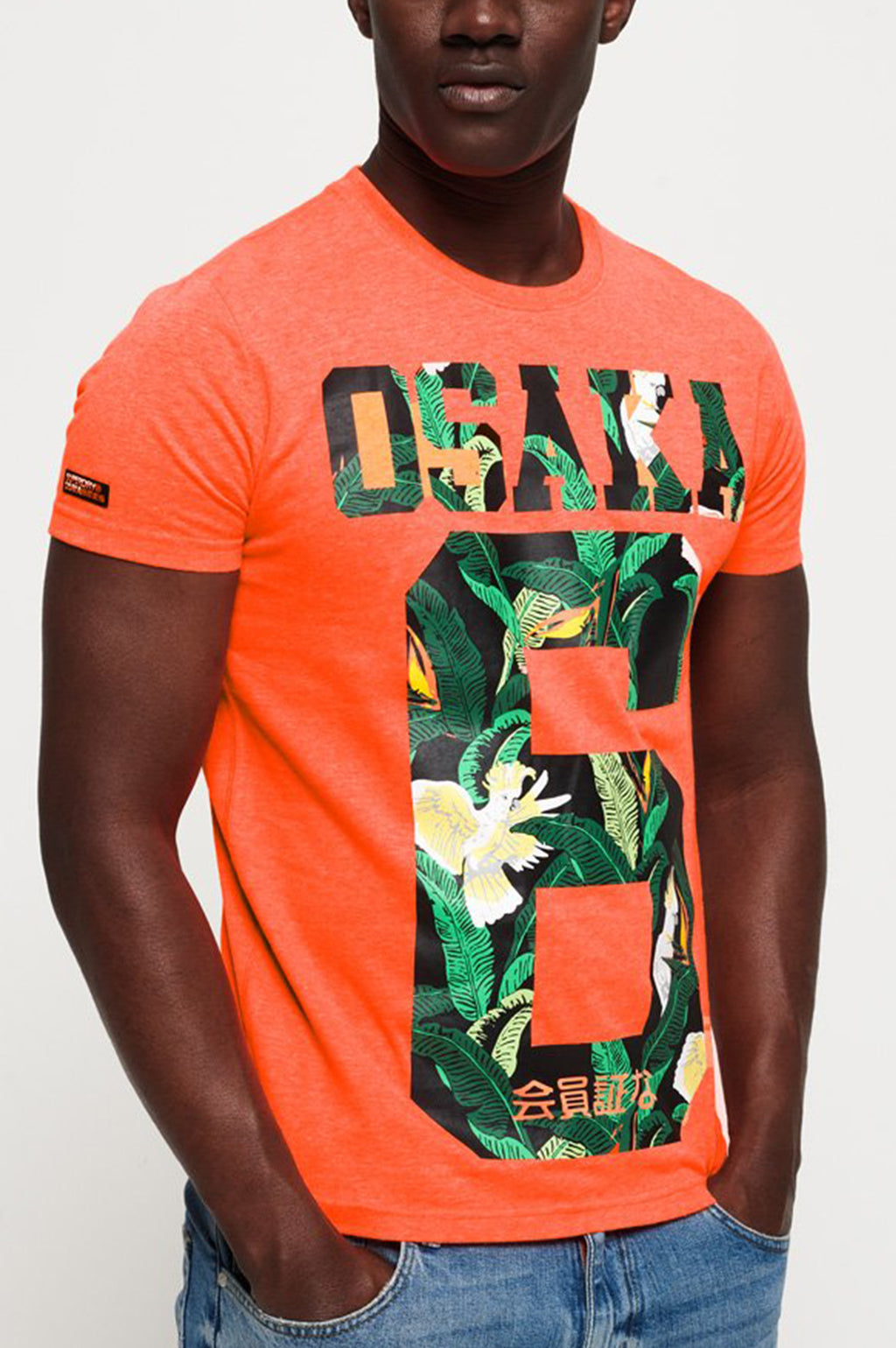 Superdry Men Osaka Mid Tee