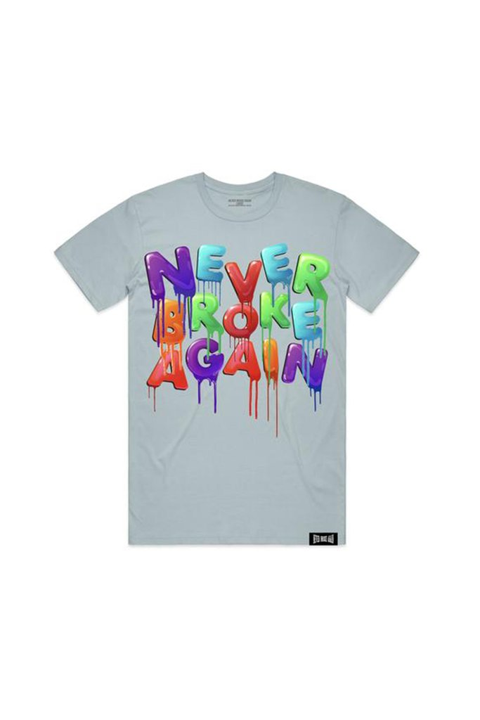 Aao Fashion Men Drip Colors Tshirt