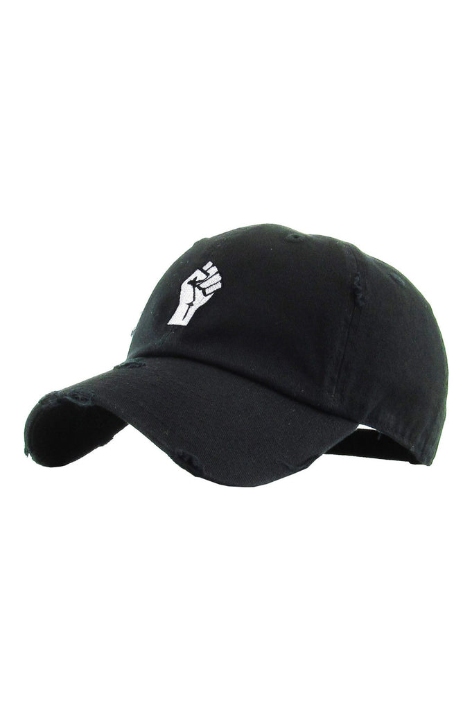 Aao Fashion Acc Fist Baseball Cap