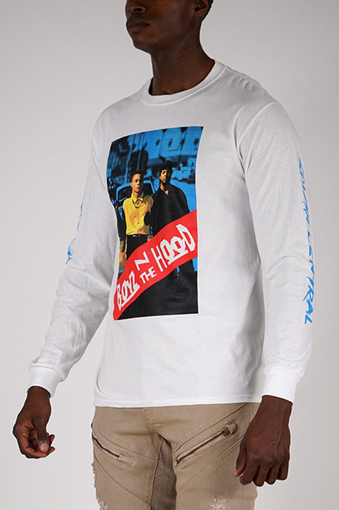 Aao Fashion Men Graphic Ls Tee Boyz N The Hood