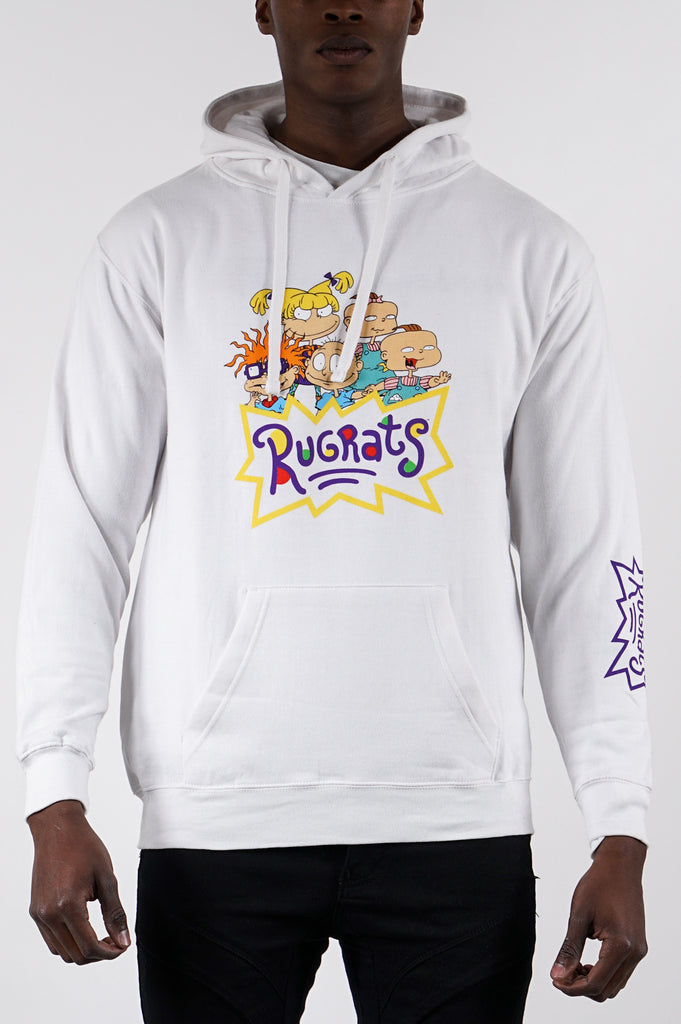 Aao Fashion Men Rugrats Graphic Hoodie