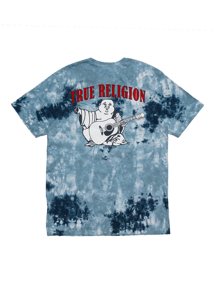 True Religion Men Buddha Logo Crew Neck S/S Tee