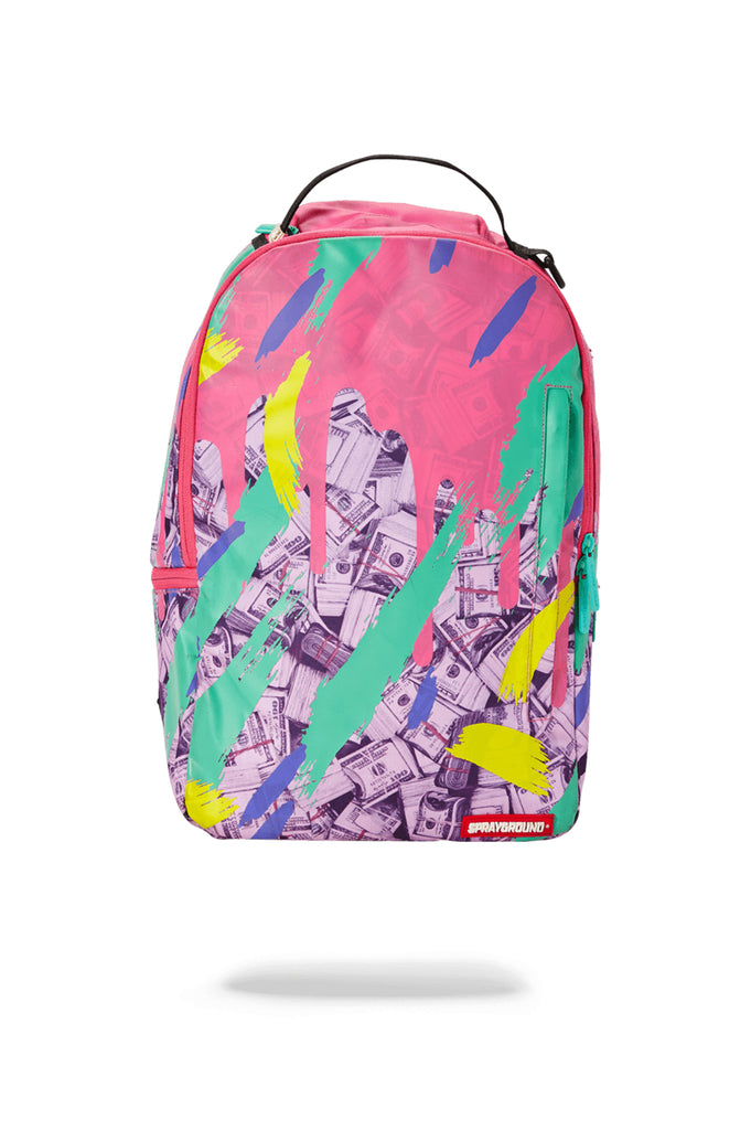 Sprayground Acc Money Pink Camo Drip Backpack