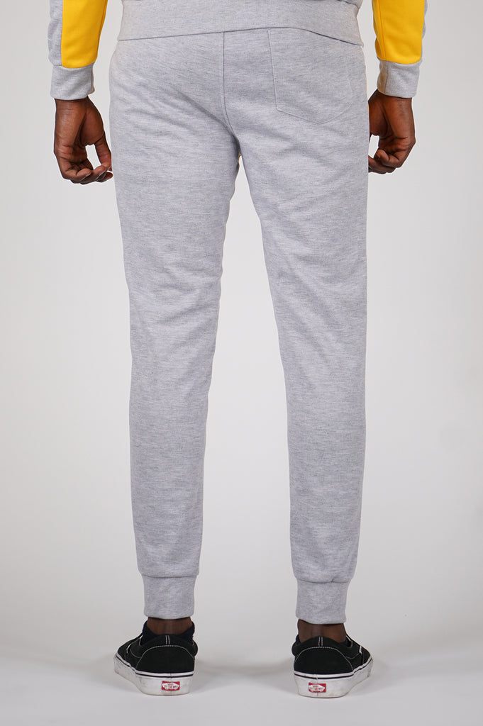 Aao Fashion Men Color Block Tech Fleece Pants
