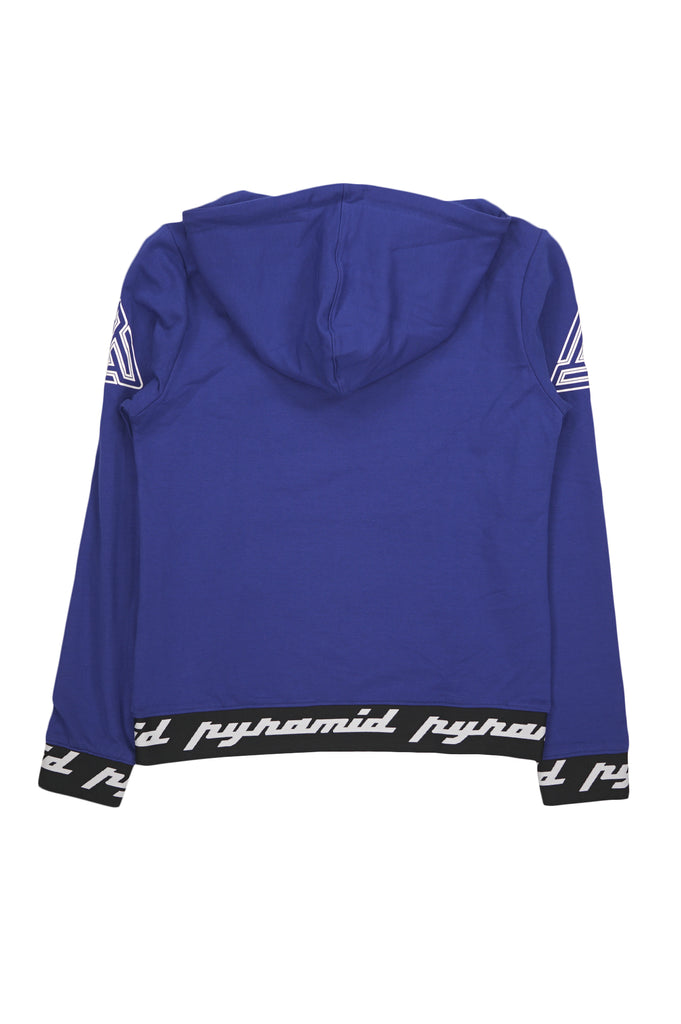 Black Pyramid Women Core 3D Rubber Patch Pullover Hoody