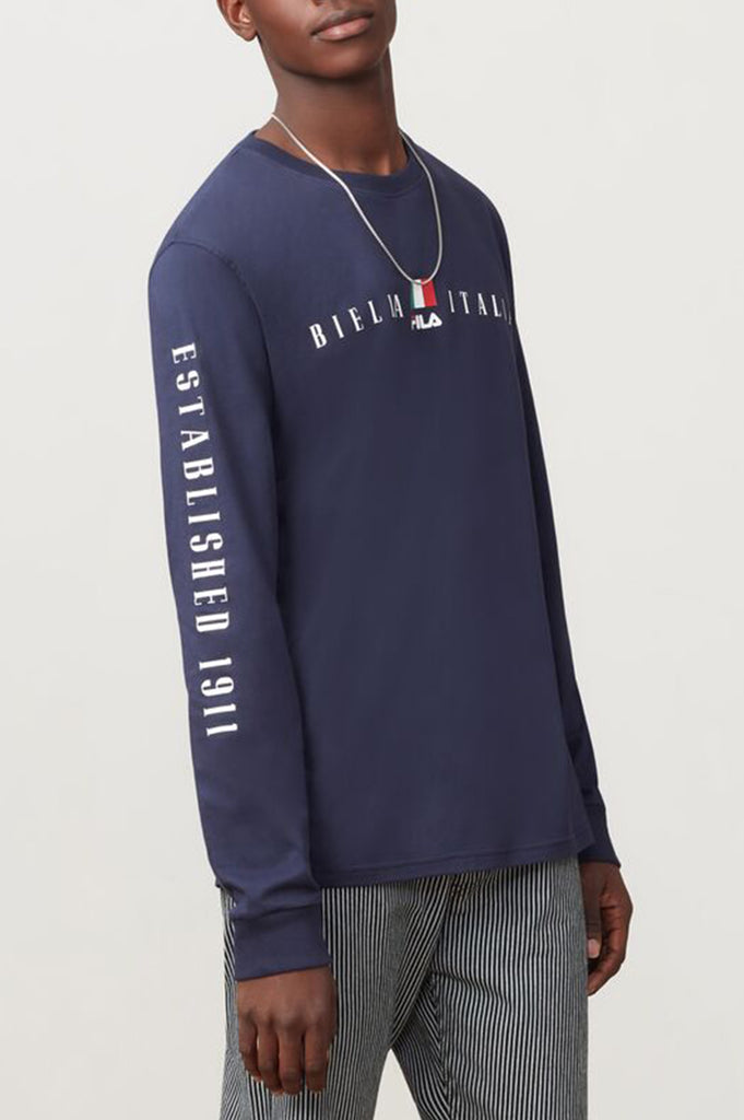 Fila Men Petrelli Long Sleeve Tee