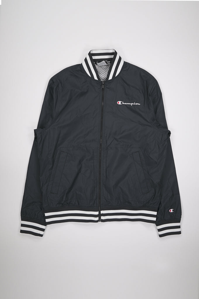 Champion Men Satin Baseball Jacket
