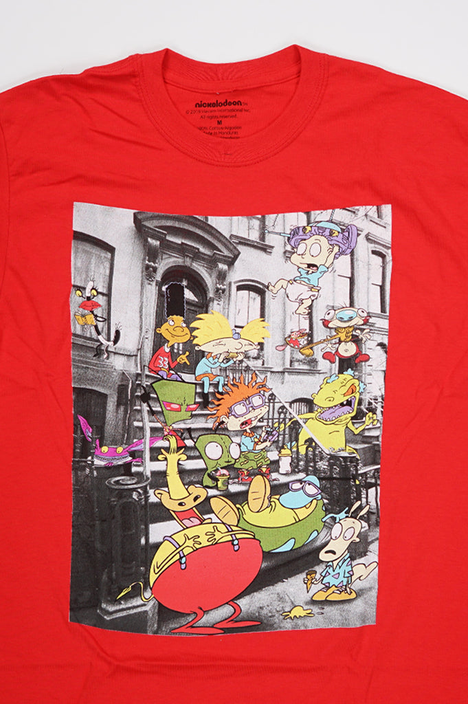 Aao Fashion Men Graphic Tee Nickelodeon Group