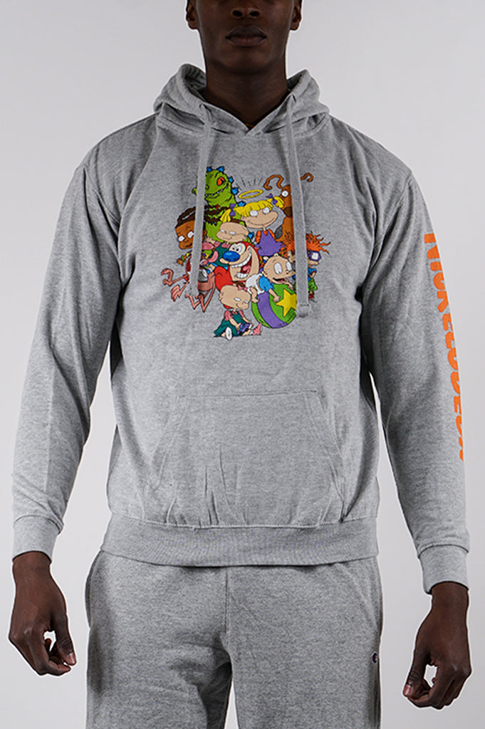 Aao Fashion Men Rats Cats And Rugrats Graphic Hoodie
