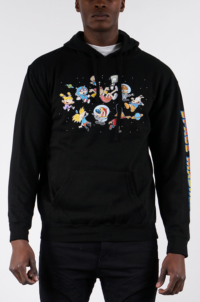 Aao Fashion Men Nick 90S Animals Graphic Hoodie