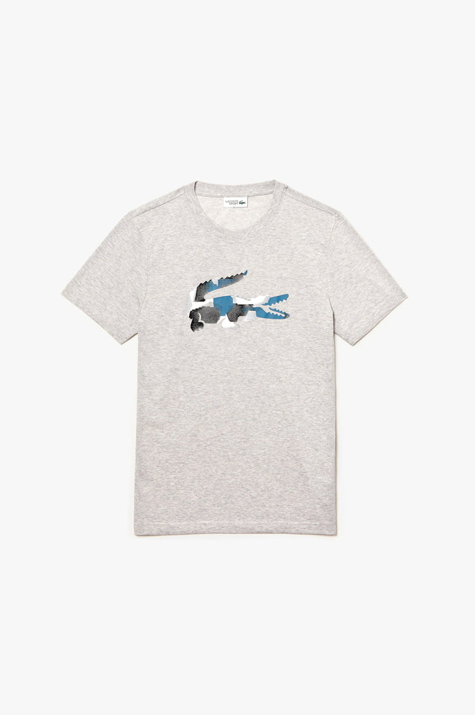 Lacoste Men Textured Logo S/S Tee