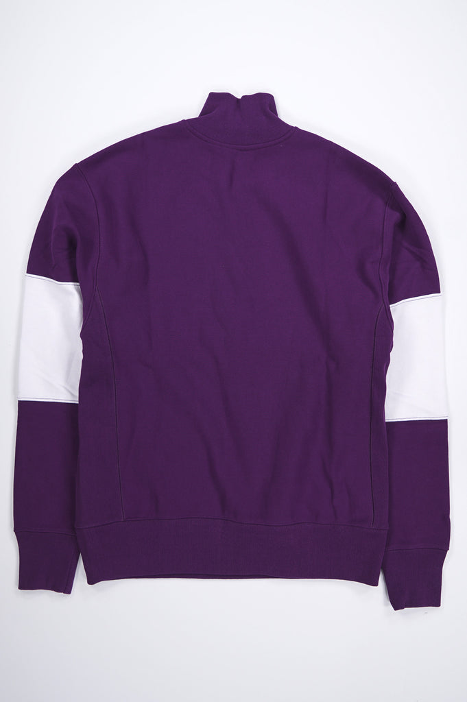 Champion Men Reverse Weave Colorblocked 1/4 Zip Pullover