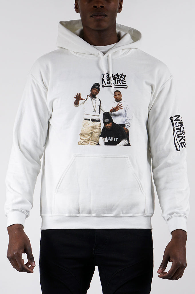 Aao Fashion Men Naughty By Nature Graphic Hoodie