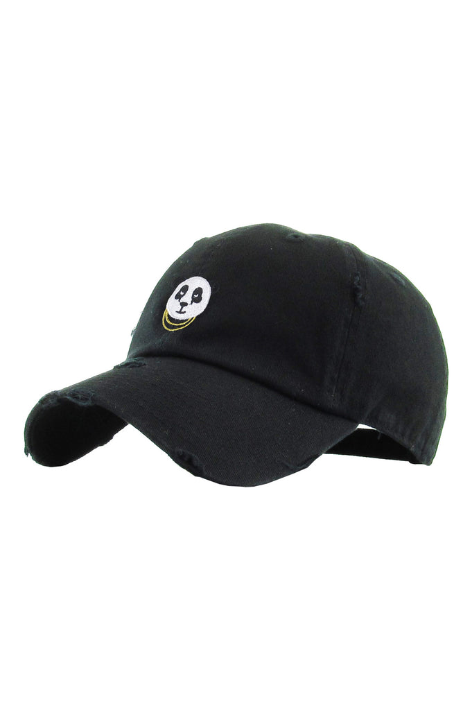Aao Fashion Acc Panda Baseball Cap