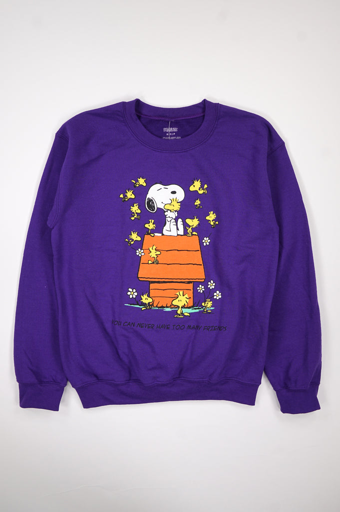 Aao Fashion Women Snoopy Many Friends Sweatshirt