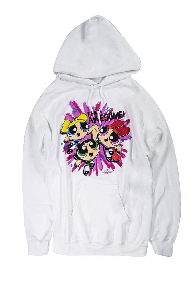 Aao Fashion Men Graphic Hoodie Powerpuff Girls Team Awesome