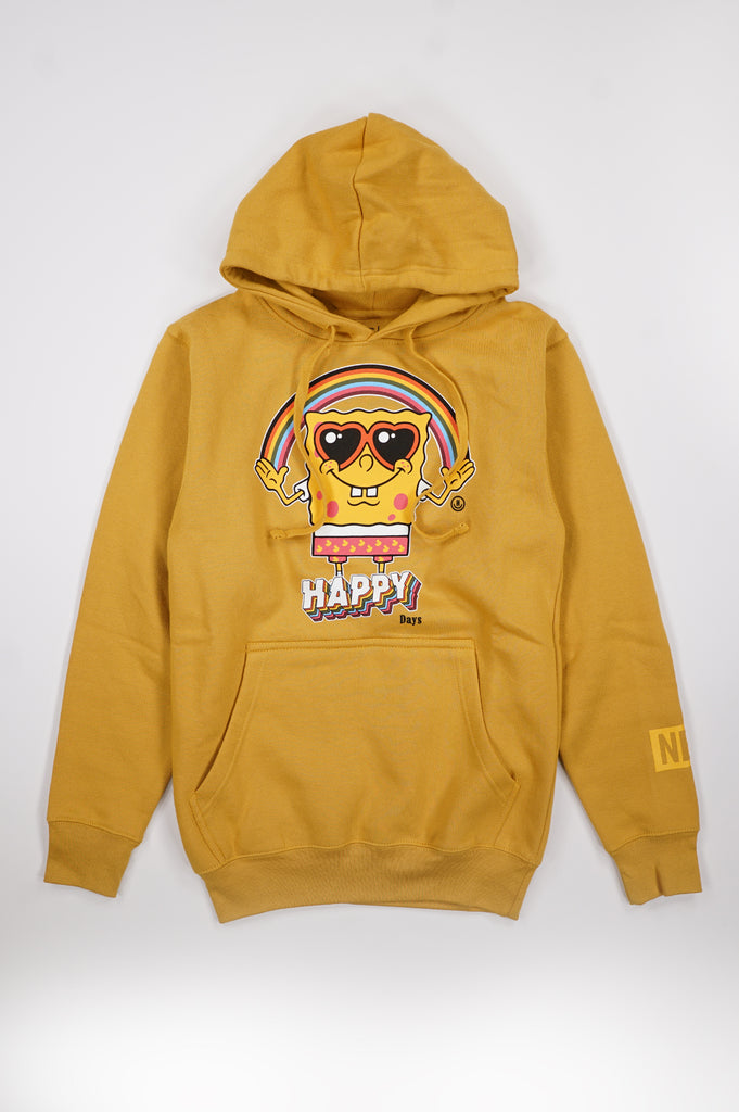 Aao Fashion Women Happy Days Sponge Bob Pullover Hoodie